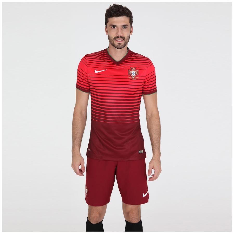 4000ea86d4 Camisa Nike Seleção Portugal I s n 2014 Jogador
