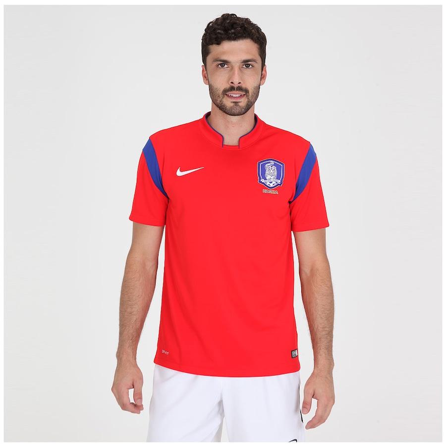 Camisa Nike Seleção Korea I s n 2014 - Torcedor 0ced5437a3ec4