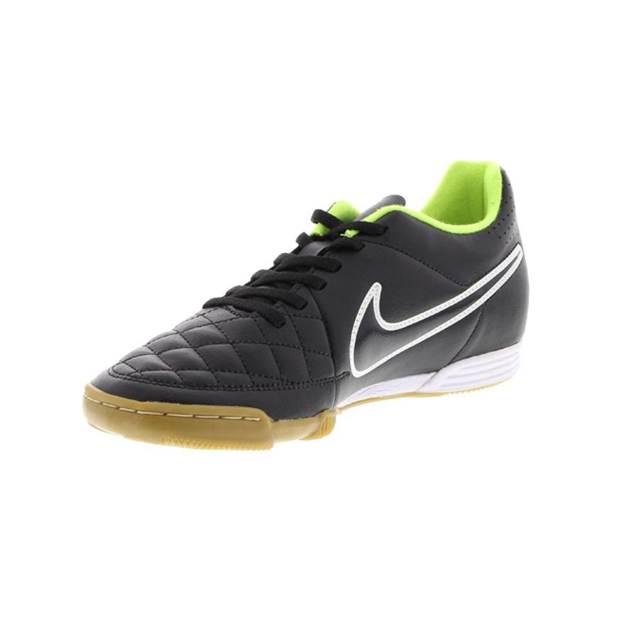 ... Chuteira de Futsal Nike Tiempo Rio II IC - Adulto ... beffa84599aa2