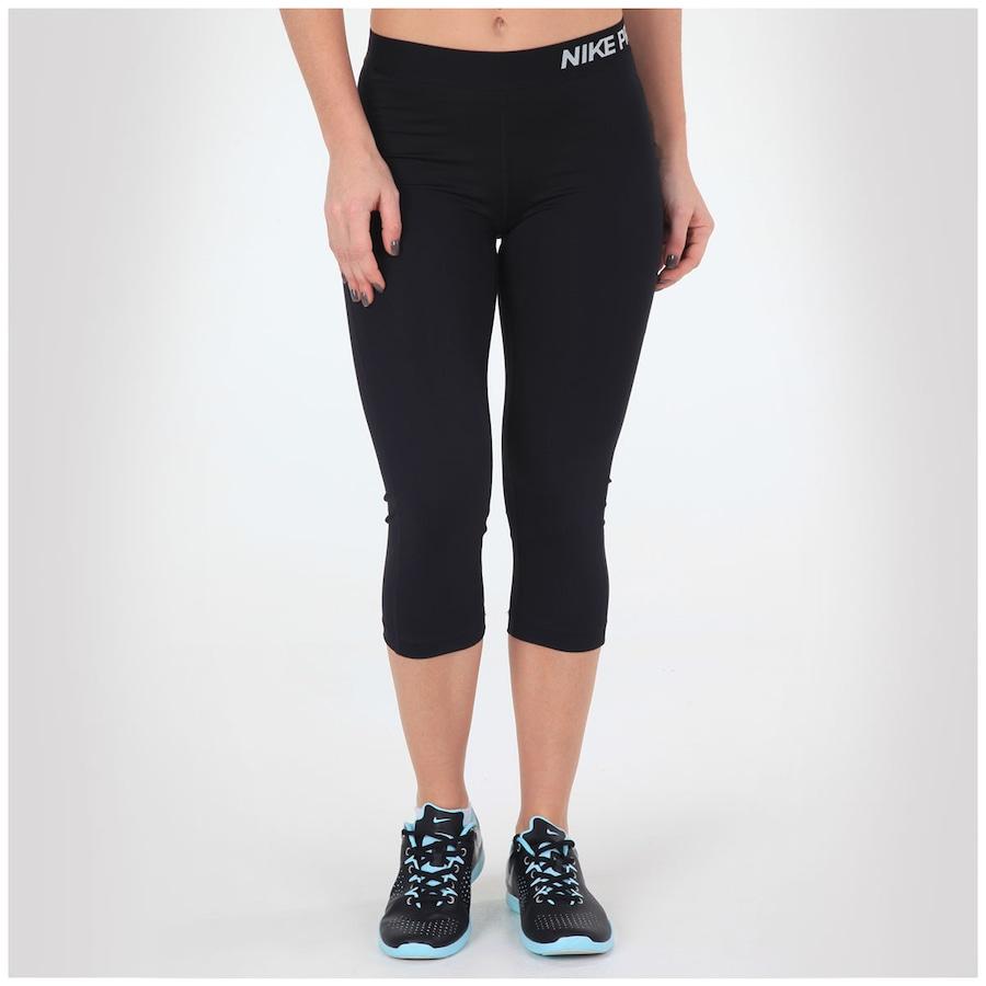 bc757f364c9 Calça Capri de Suave Compressão Nike Pro - Feminina