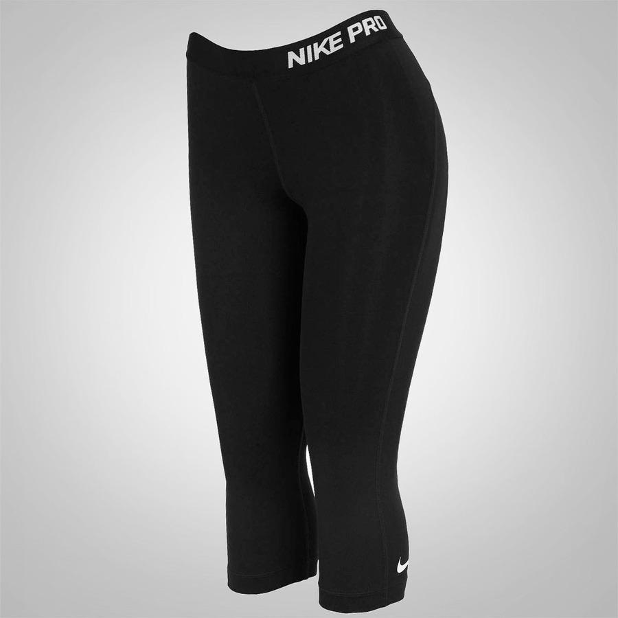 Calça Capri de Suave Compressão Nike Pro - Feminina dc94de0cbd958