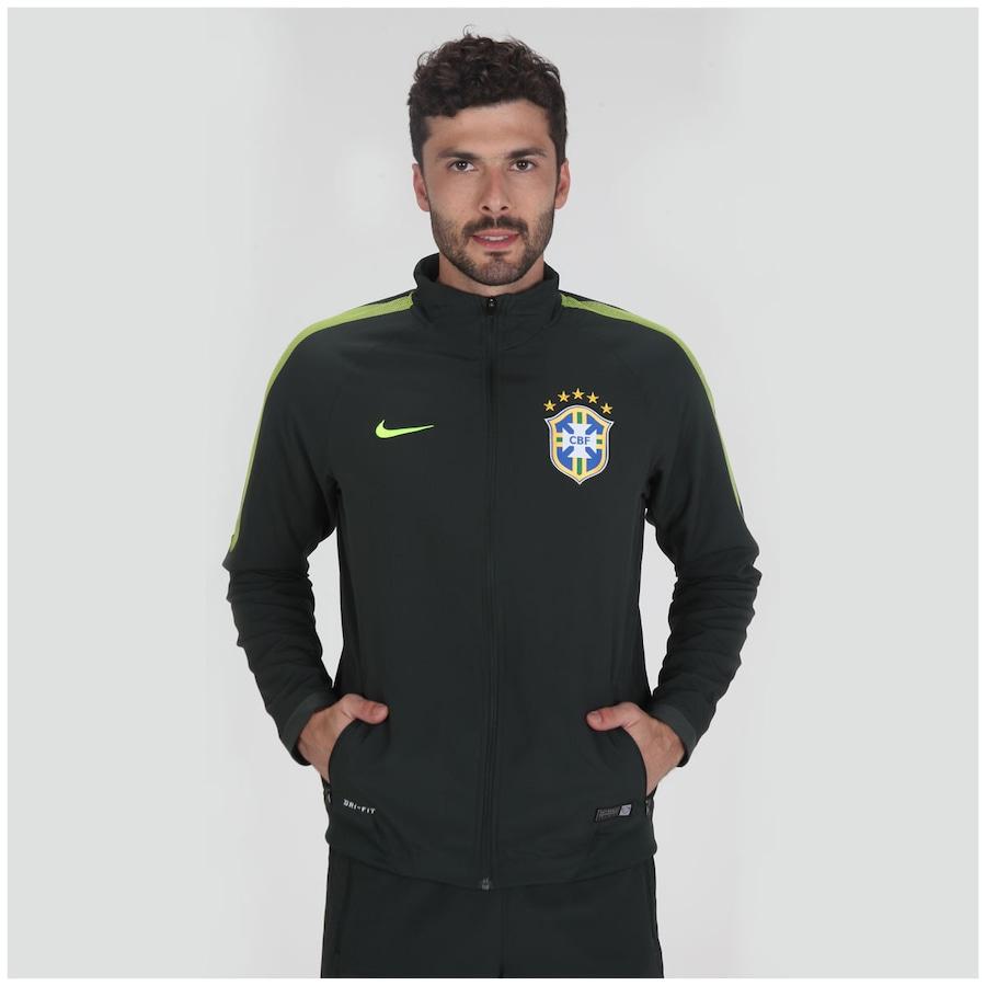 ... Agasalho Nike CBF Squadra - Masculino ... edb65f98b2e57