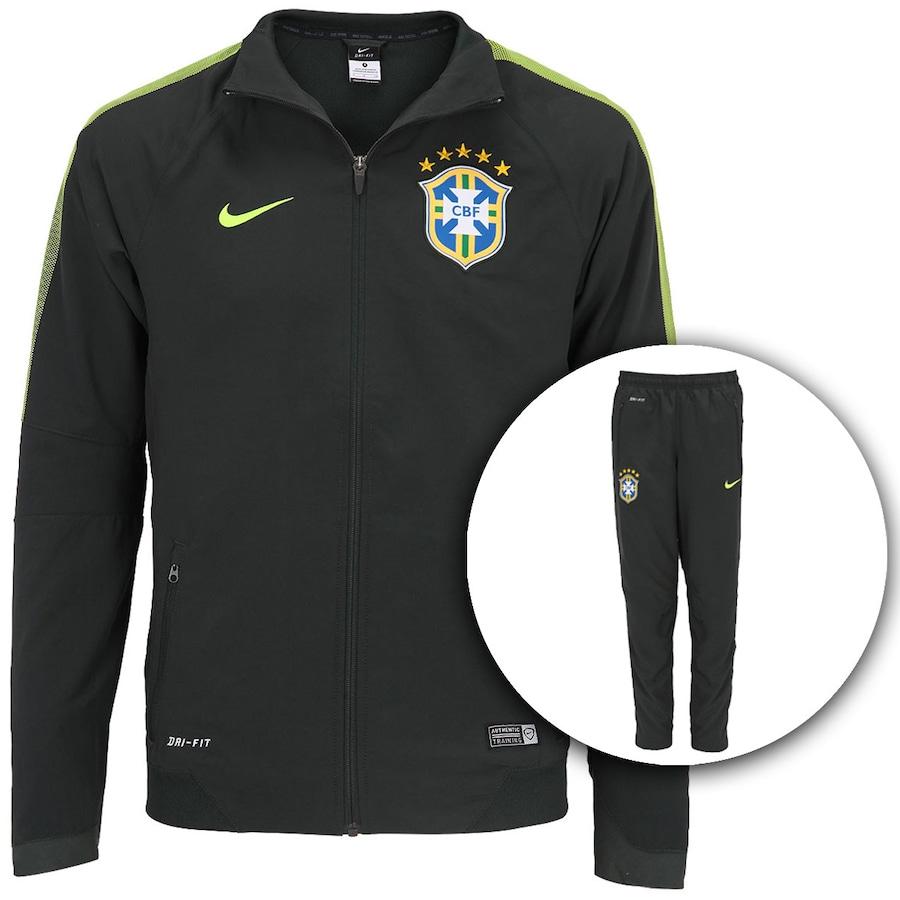 ... Agasalho Nike CBF Squadra - Masculino 2ed12fd880c8d