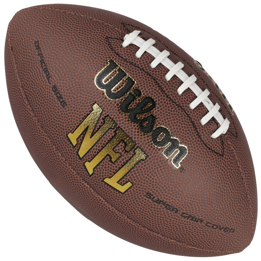 a1db98205 Bola de Futebol Americano Wilson NFL Super Grip Cover
