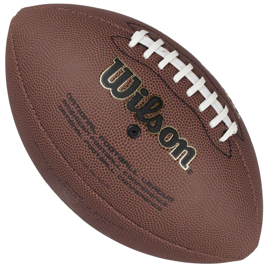 Bola de Futebol Americano Wilson NFL Super Grip Cover 25a3a17b02b0b