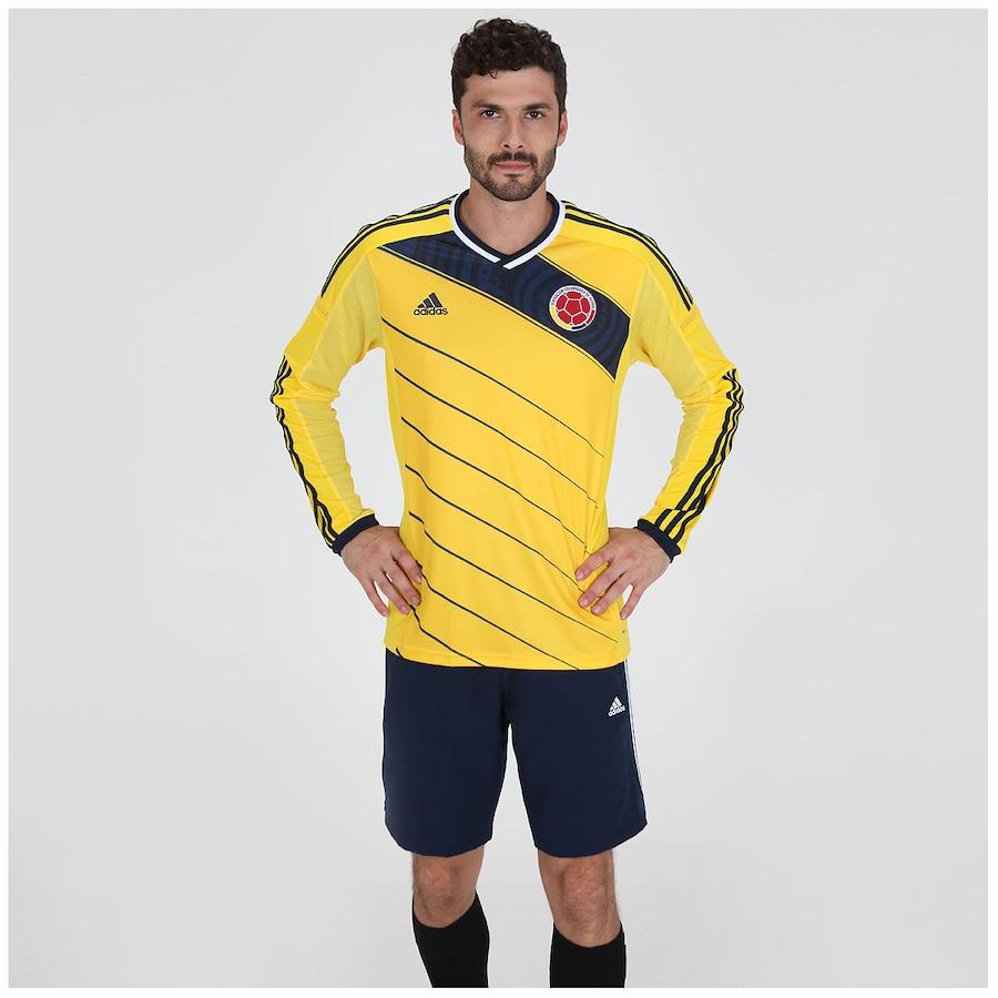 Camisa Adidas Seleção Colômbia I s n 2014 Jogador 846b2c286560d