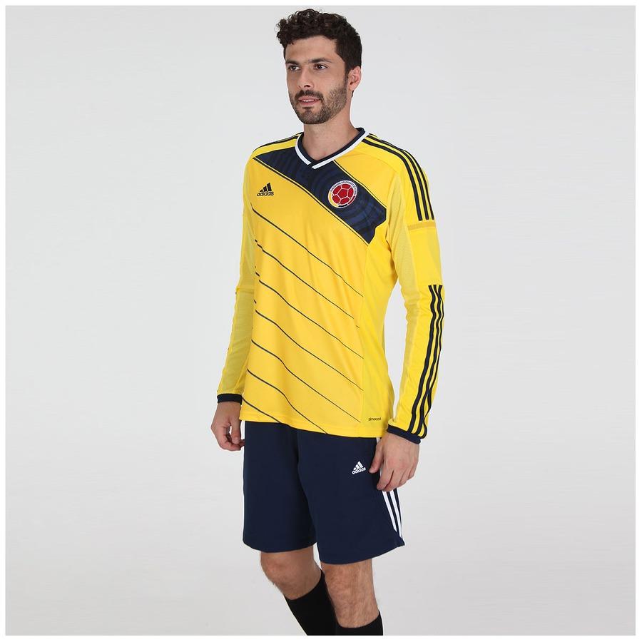 Camisa Adidas Seleção Colômbia I s n 2014 Jogador f07346702fdd2