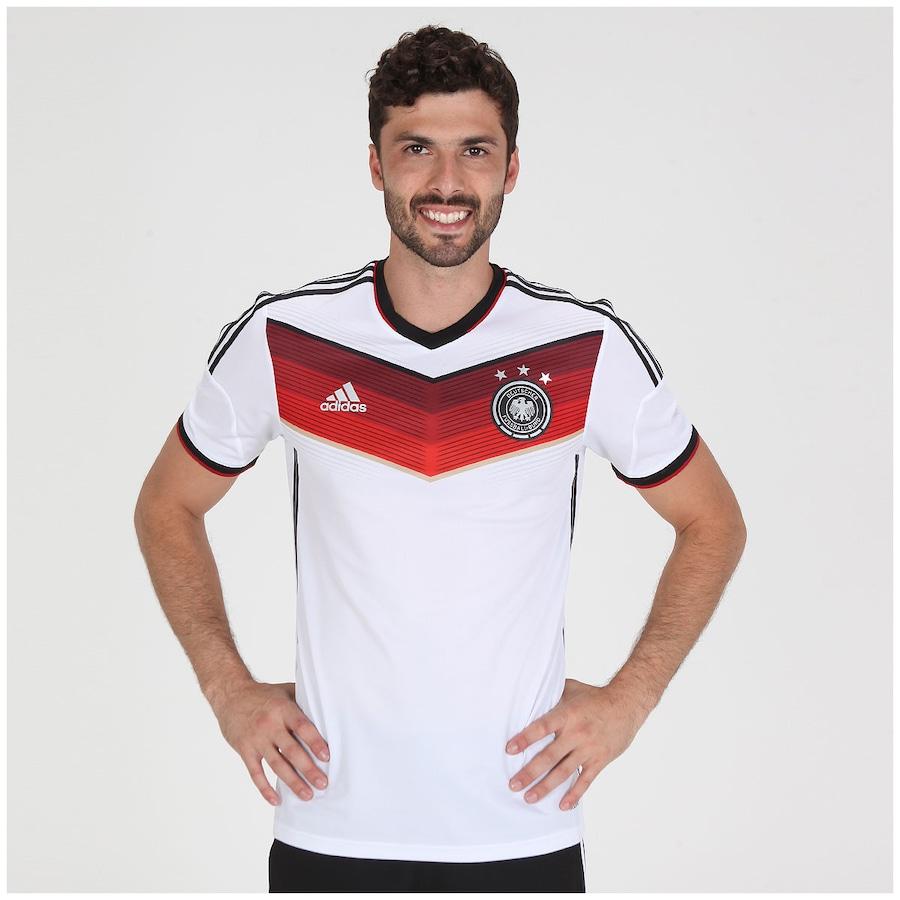 f074031e06faa Camisa Adidas Seleção Alemanha I s n 2014 - Jogador