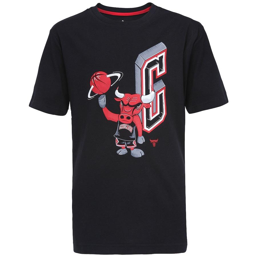 64f45e84ae3b1 Camiseta Adidas Mascote Chicago Bulls Infantil
