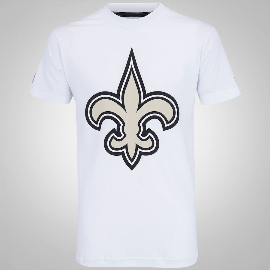 0e7c87da97749 Camiseta New Era New Orleans Saints Masculina