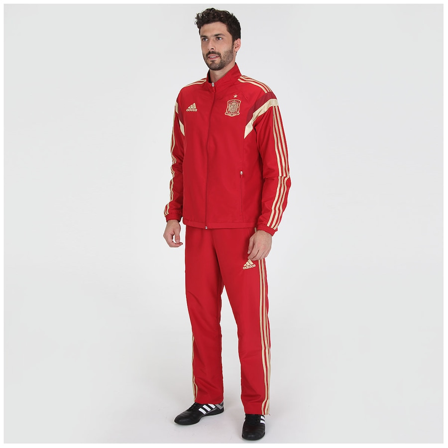 Agasalho adidas Espanha Viagem - Masculino ... 289804acbb74f