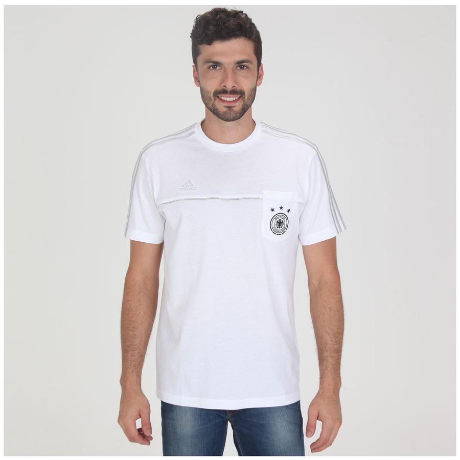 87d7a4ebb6 Camiseta Adidas Ess Alemanha Ss14 Masculina