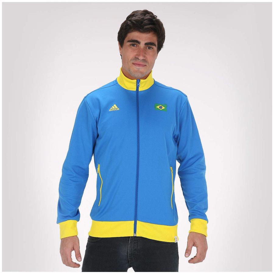 ... Jaqueta adidas Brasil World Cup – Masculina ... f78a4d0955f
