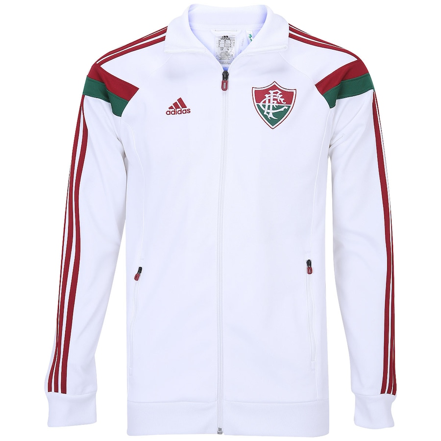 a6d39eb3e1435 Jaqueta Adidas Fluminense Hino
