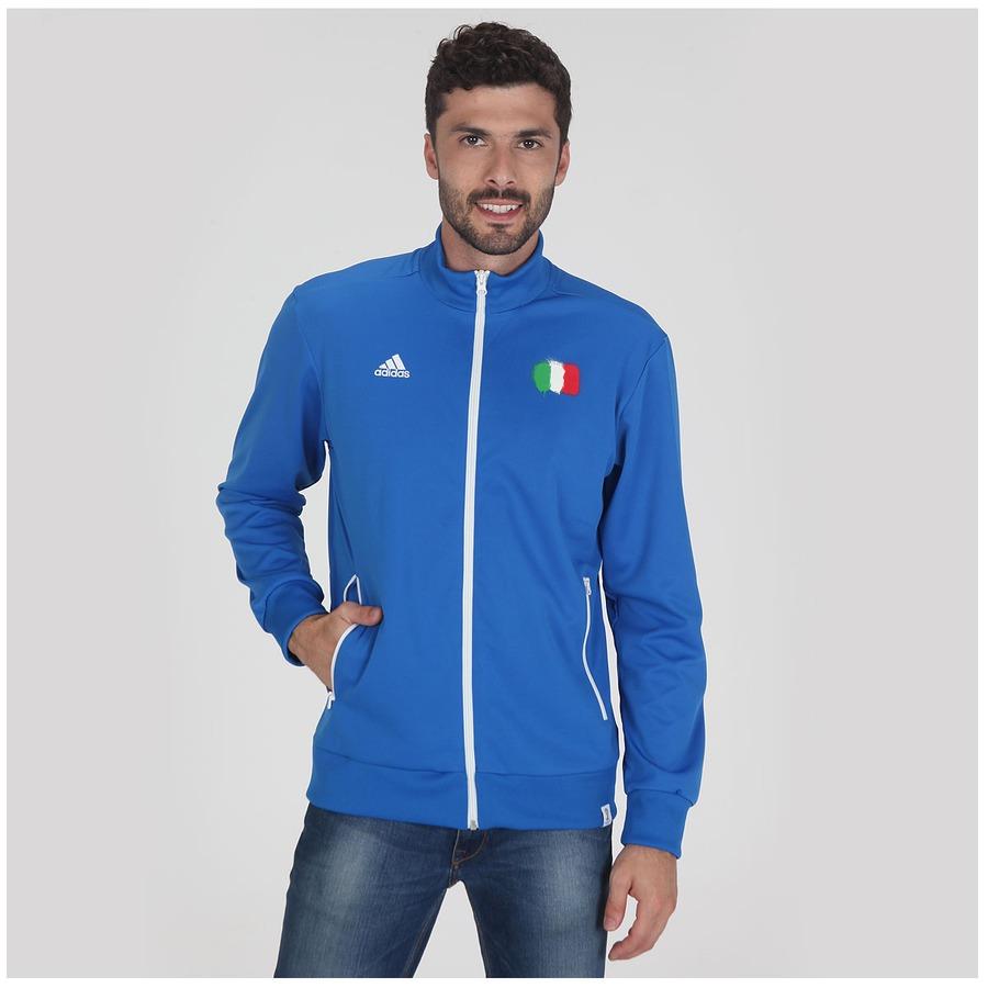 027fce726fb1e Jaqueta Adidas Itália WC14 Masculina