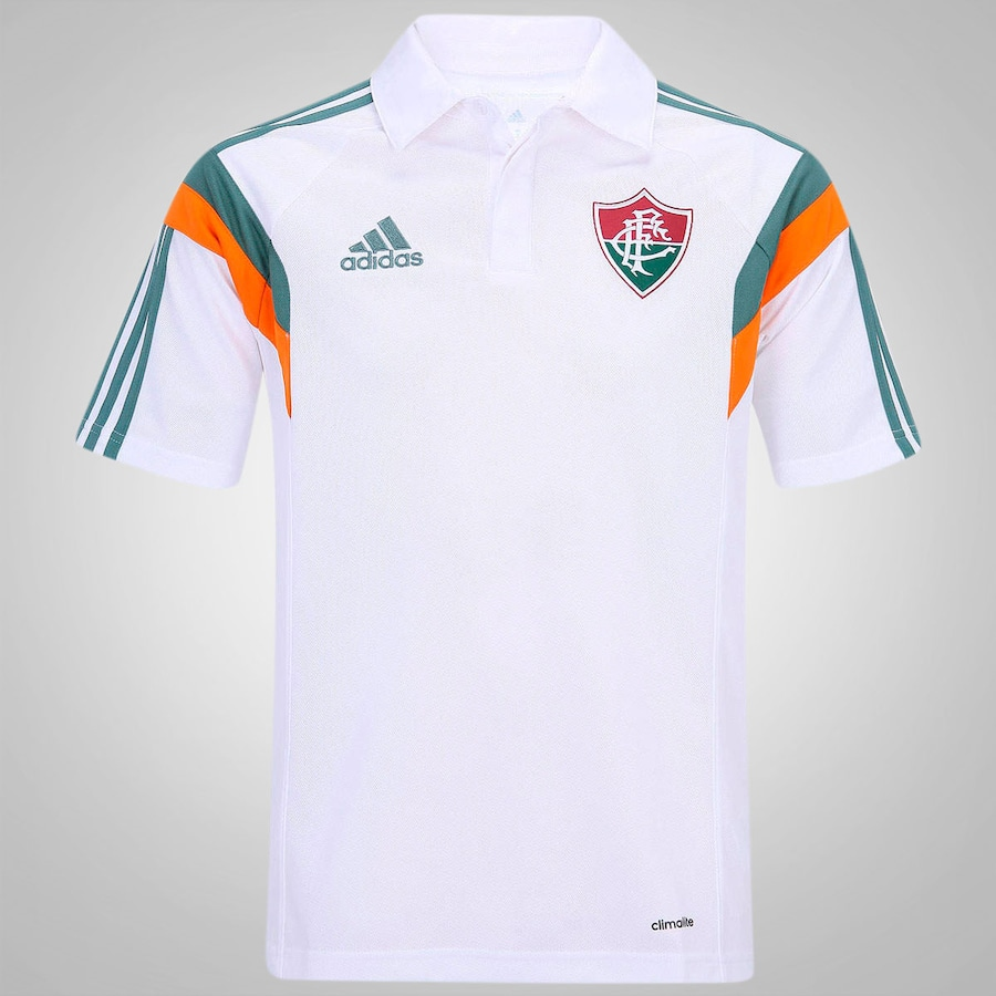 a6f2d53b93 Camisa Polo do Fluminense Viagem 14 adidas - Masculina