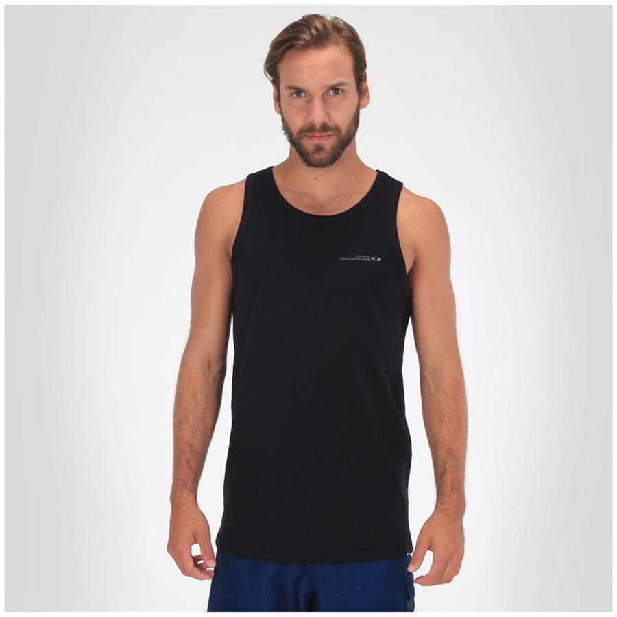 Camiseta Regata Oakley Massive Beat - Masculina ... 9d30bb19fb6