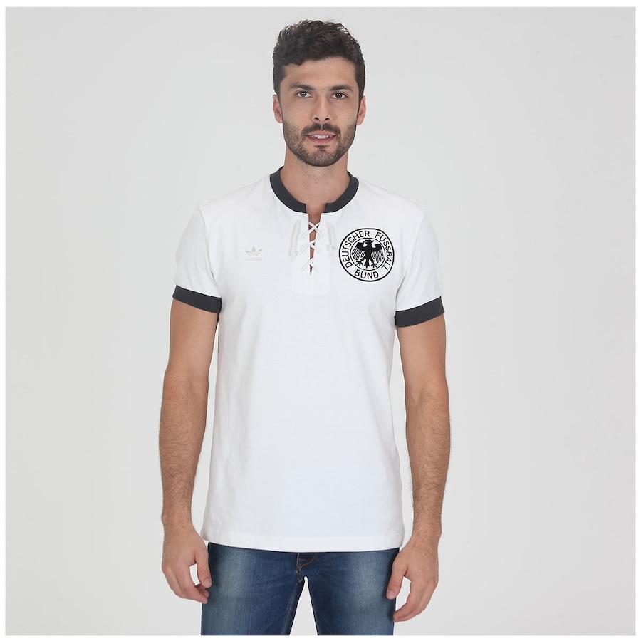 9803087a0f Camisa Adidas Alemanha 1954 Retrô Masculina