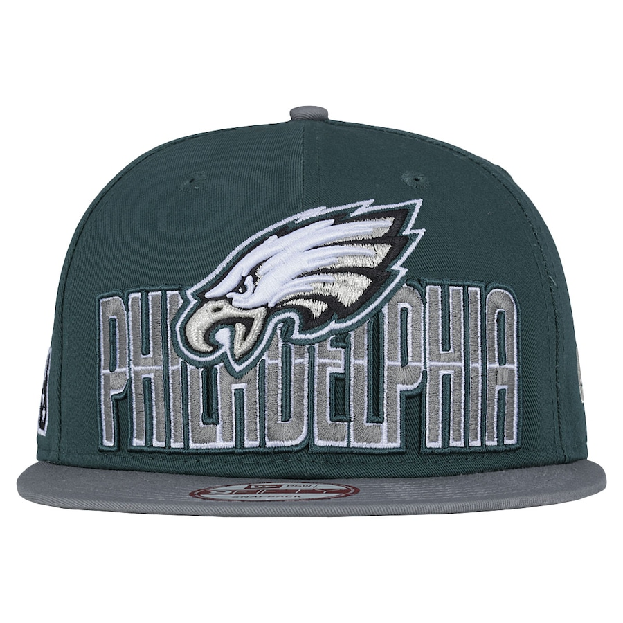 Boné Aba Reta New Era Philadelphia Eagles Draft NFL - Snapb 9e53e20f0bc