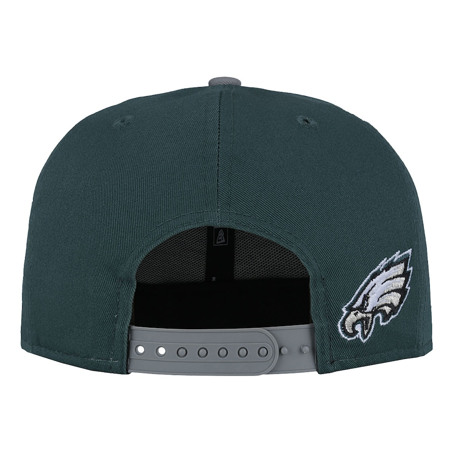... Boné Aba Reta New Era Philadelphia Eagles Draft NFL - Snapback - Adulto  ... 3722b103d20