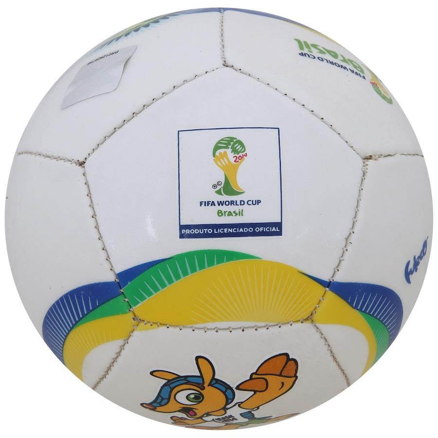 Minibola de Futebol de Campo Copa FIFA Fuleco L8 fac5a0837e1a6
