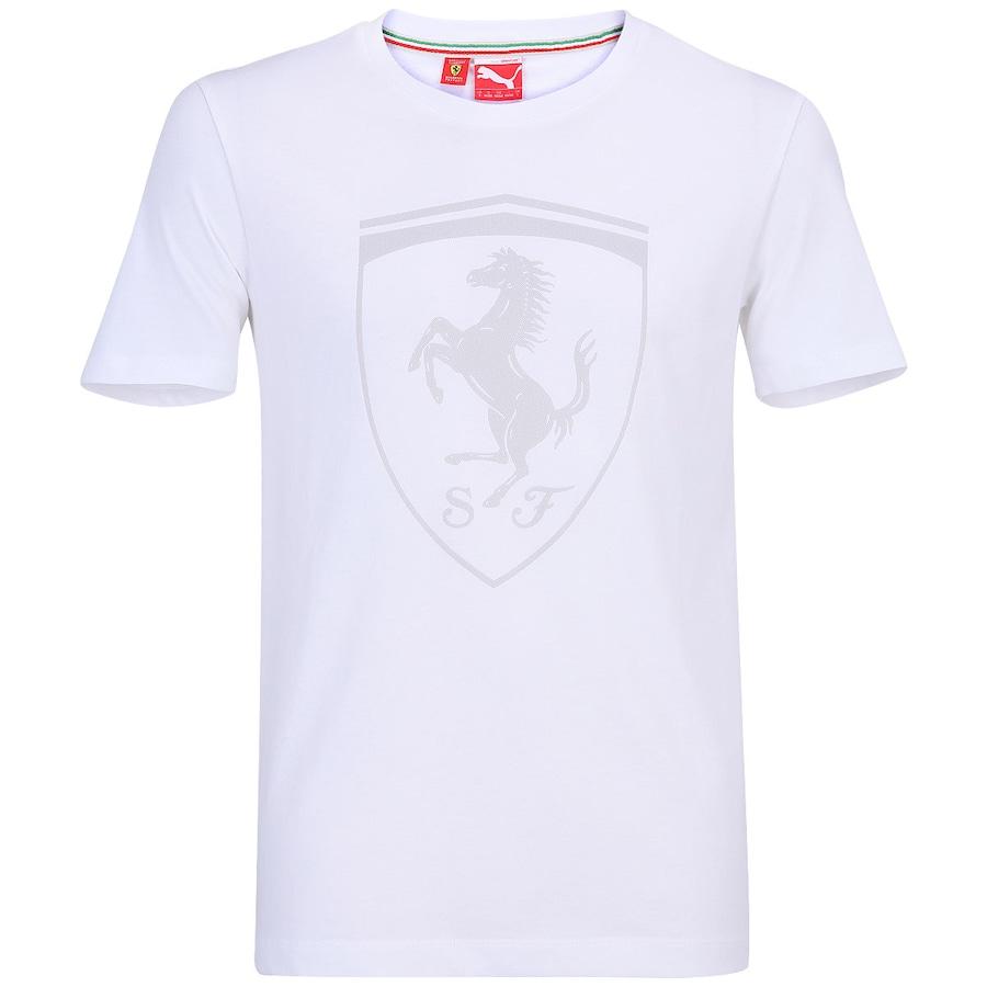 Camiseta Puma Scuderia Ferrari Shield Masculina 4594175abfd