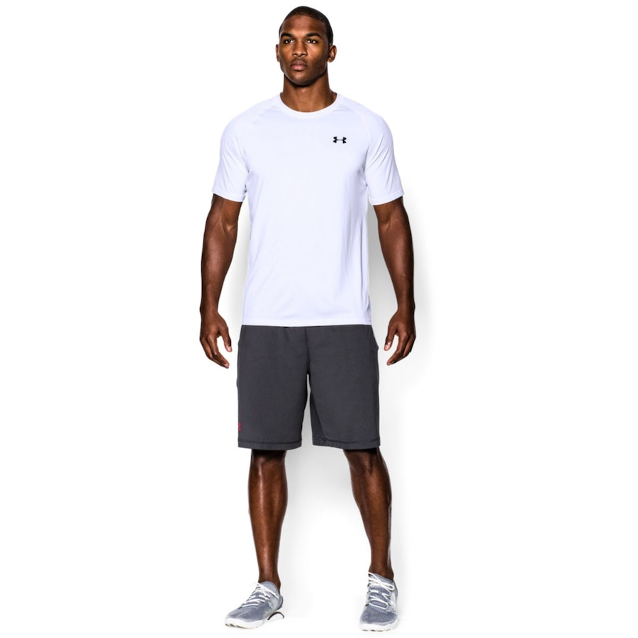 Camiseta Under Armour Tech Tecnologia Anti Suor - Masculina 2186e3392578e