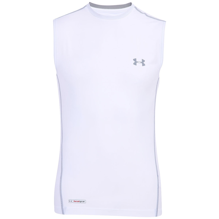 Camiseta Regata Under Armour Sonic Fitted Headgea Masculina 93976f0dbad