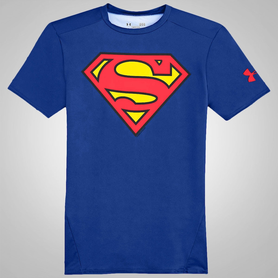 Camiseta de Compressão Under Armour Superman Masculina 0dd667eb5aaeb