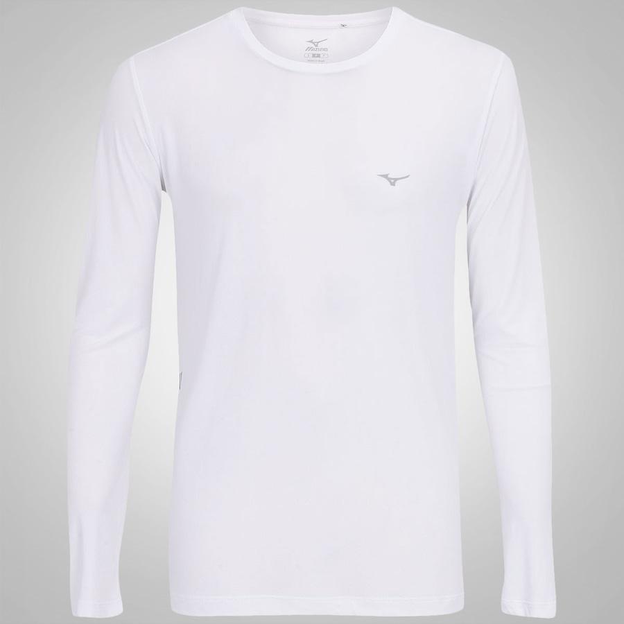 Camiseta Manga Longa Mizuno Nirvana Masculina 25c8b2a8428