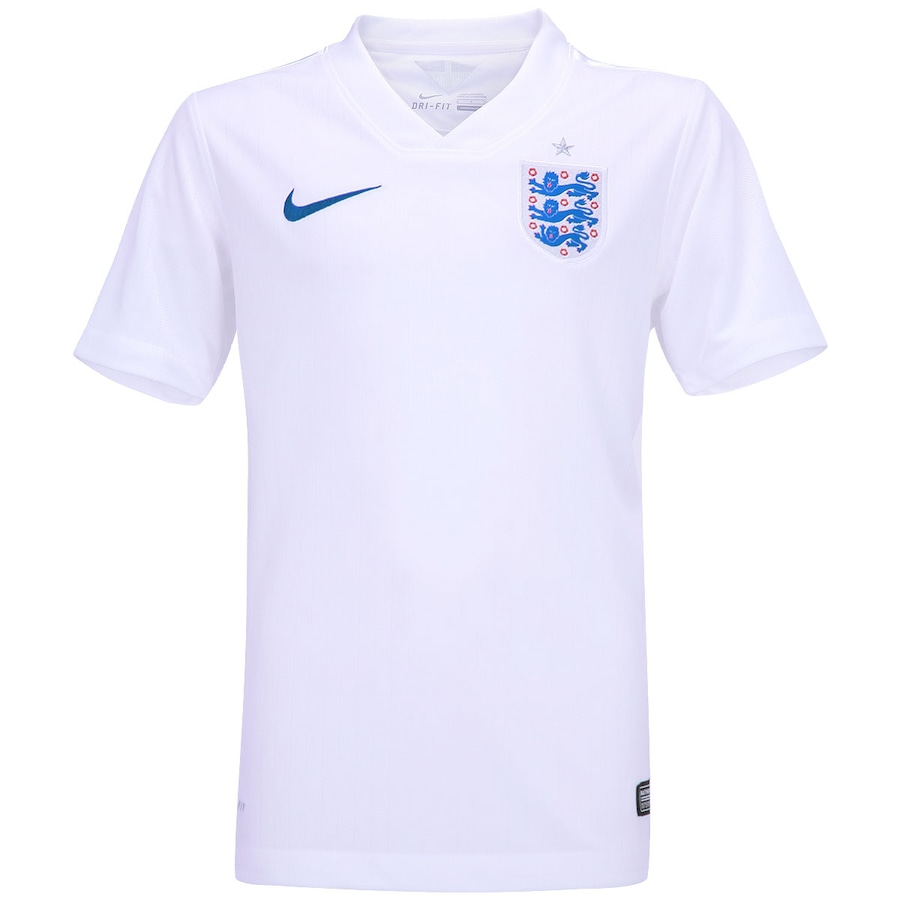 Camisa Nike Inglaterra Torcedor - Infantil 7beff8ed2ea52