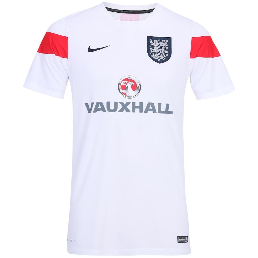 f013ad2f2c506 Camisa de Treino Nike Inglaterra Masculina