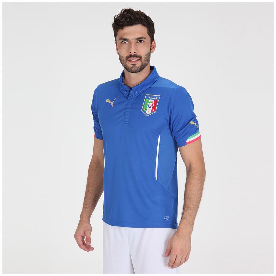 Camisa Puma Seleção Itália I s n 2014 - Torcedor 5dda3ef0d37a1