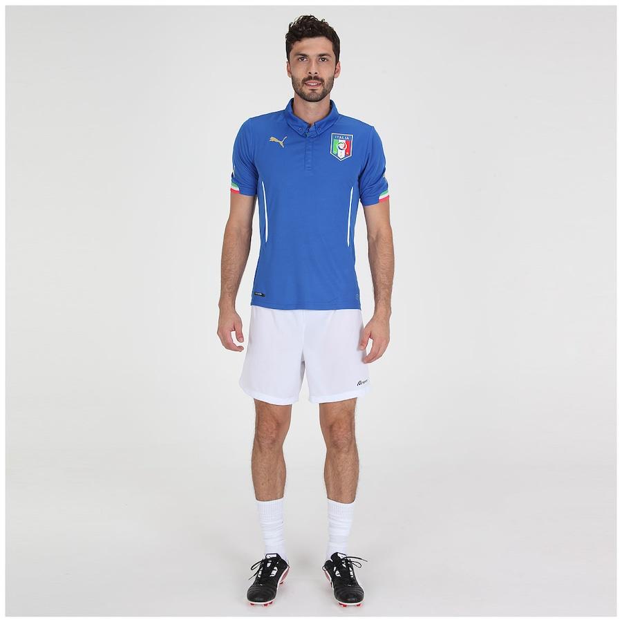 9bb7e9a449 Camisa Puma Seleção Itália I s n 2014 - Torcedor