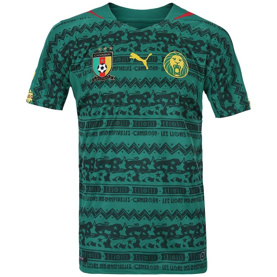 Camisa Puma Seleção Camarões I 2014 - Torcedor 33678930b9b59