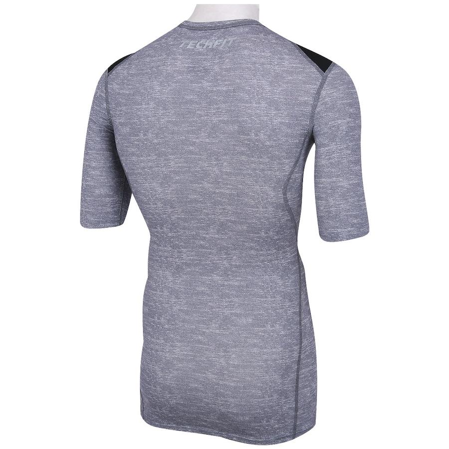 ... Camisa de Compressão adidas TechFit Base - Masculina 5f91284224047