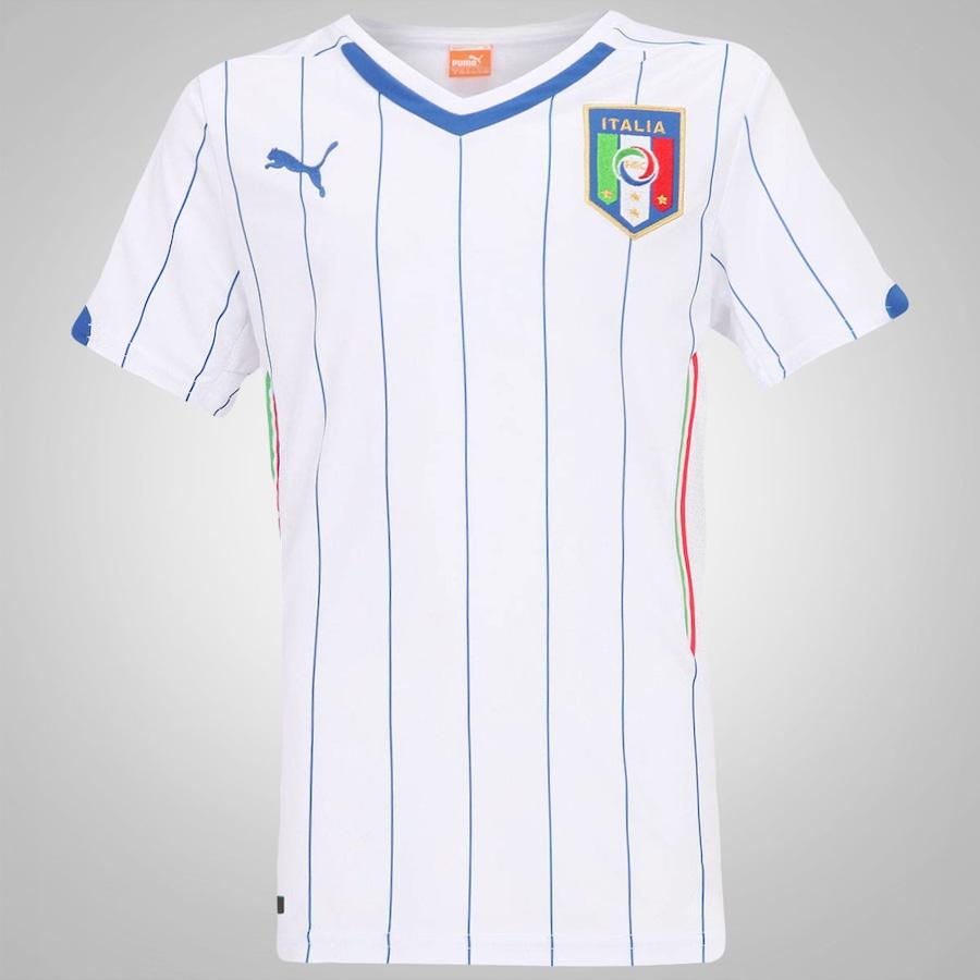 9c1ac299e99f0 Camisa Puma Itália Away 2014 s n° – Infantil