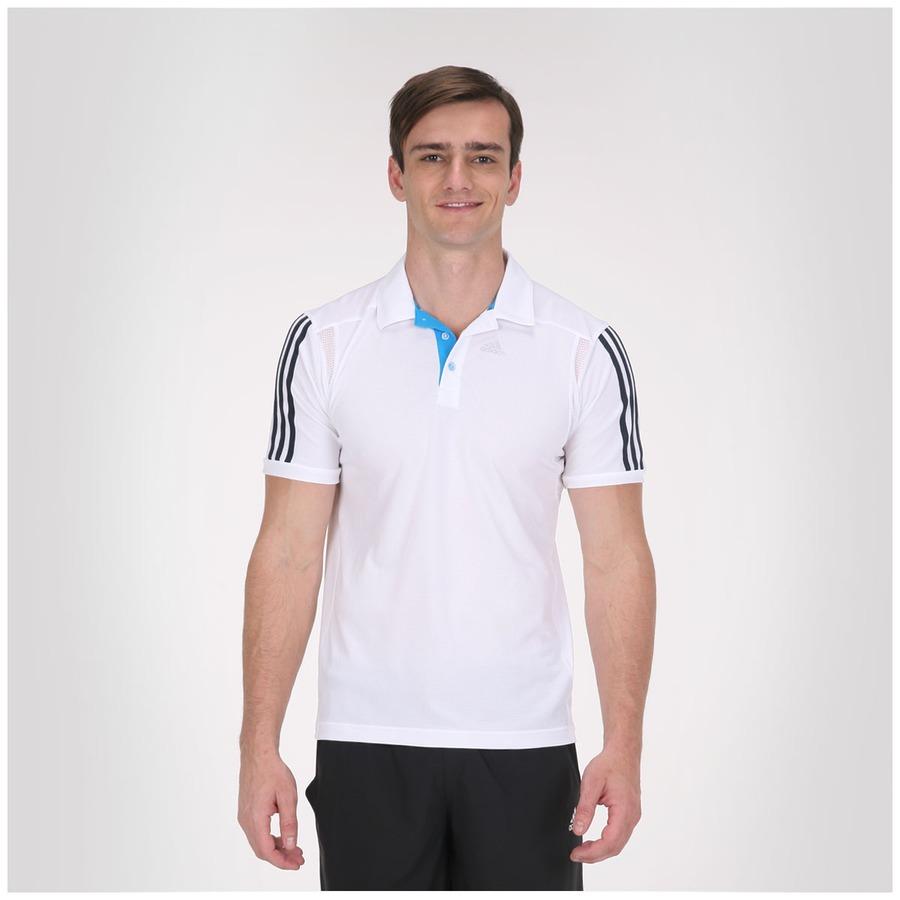 cbd165a6e94 Camisa Polo Adidas Climacool Training