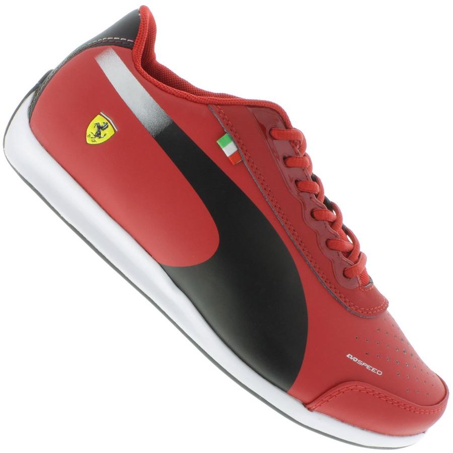 ffba01fb6fd Tênis Puma Evospeed Lo Scuderia Ferrari 2.0 Infantil