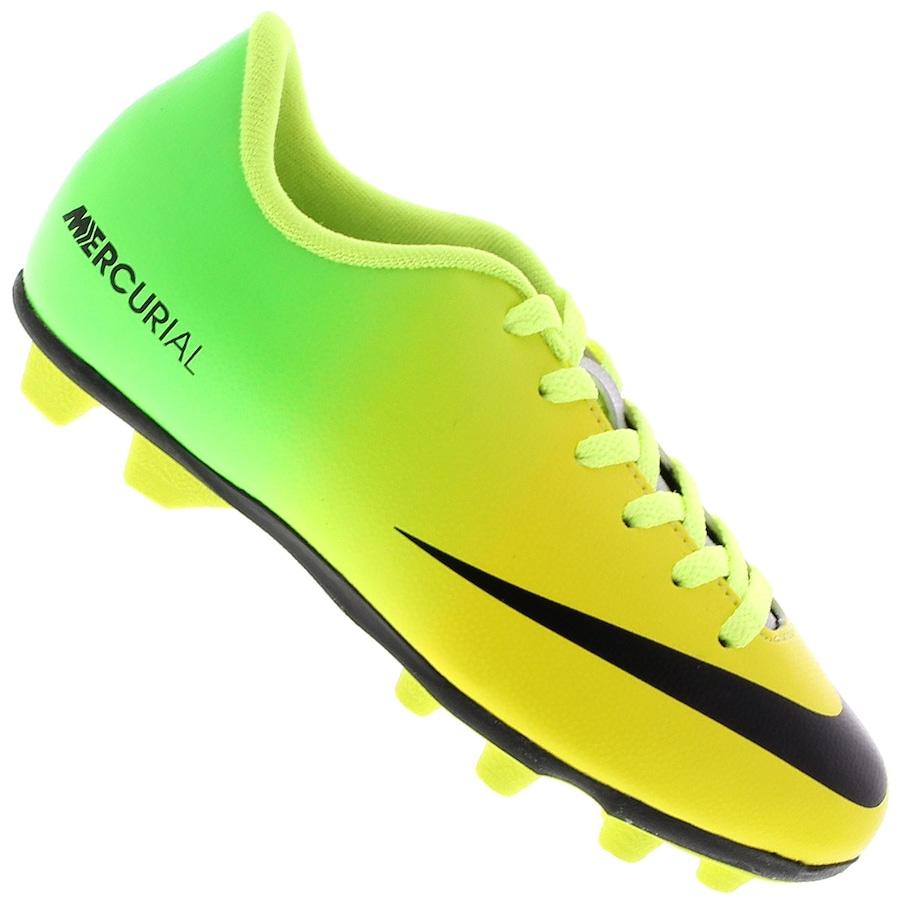 d0faccb42 Chuteira de Campo Nike Mercurial Vortex FG - Infantil