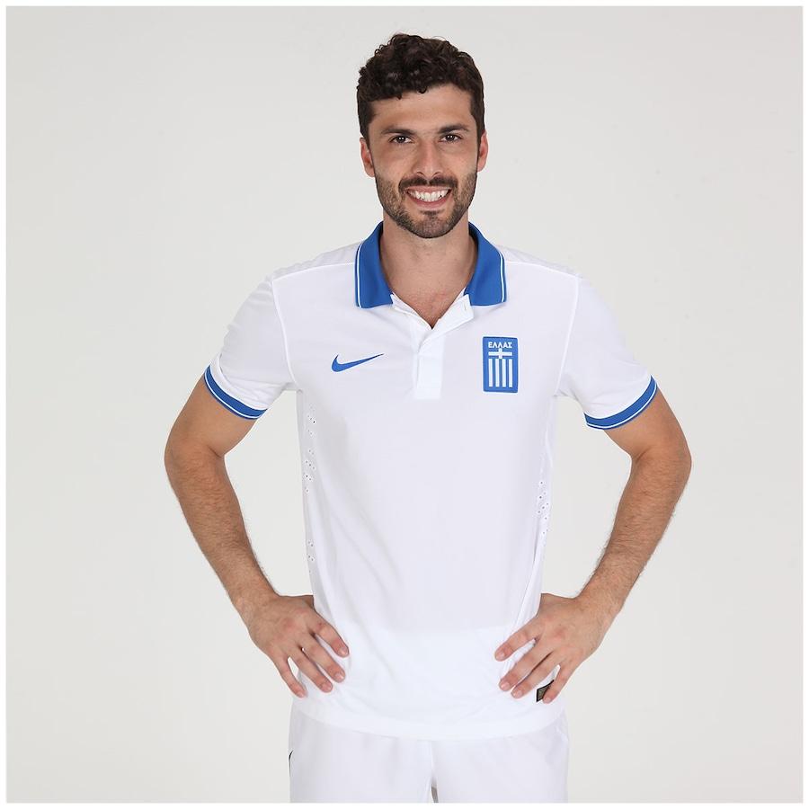 Camisa Nike Seleção Grécia I s n 2014 - Torcedor 8959f9c629875