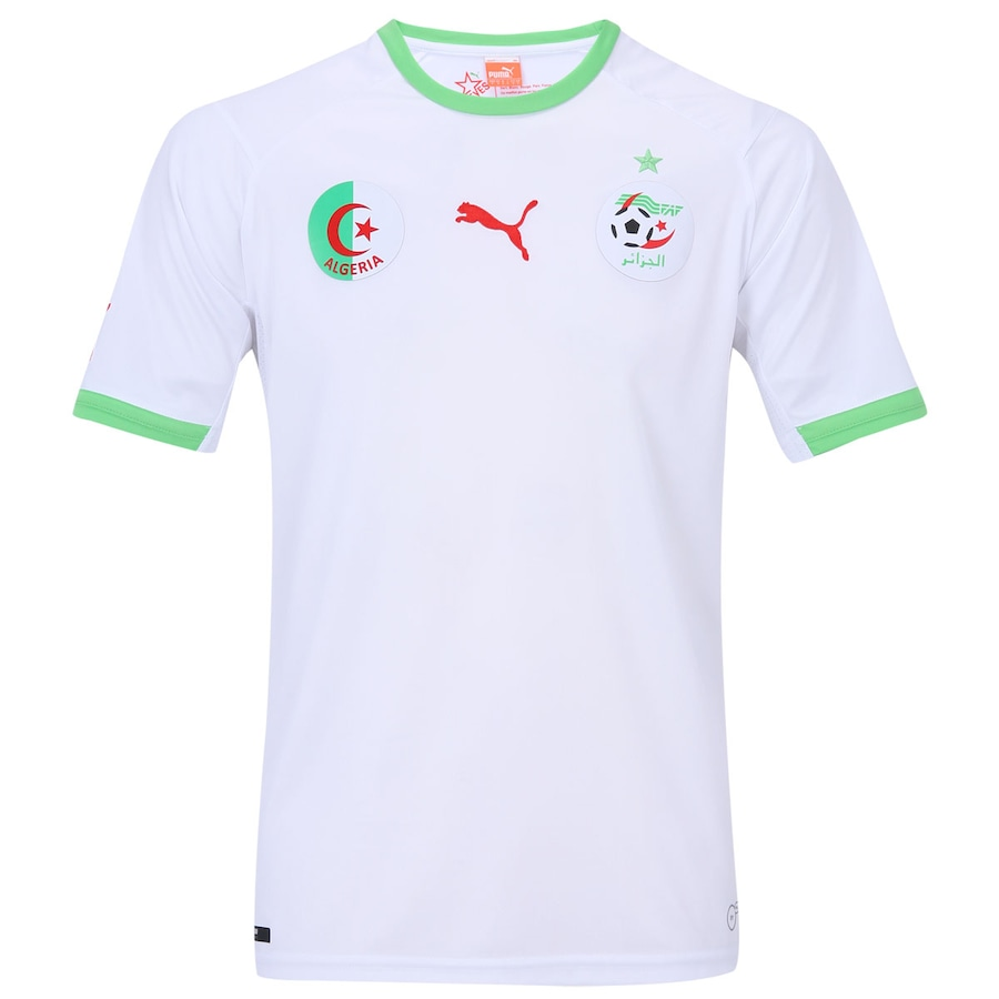 Camisa Puma Seleção Argélia I Torcedor effc7f13c05e0