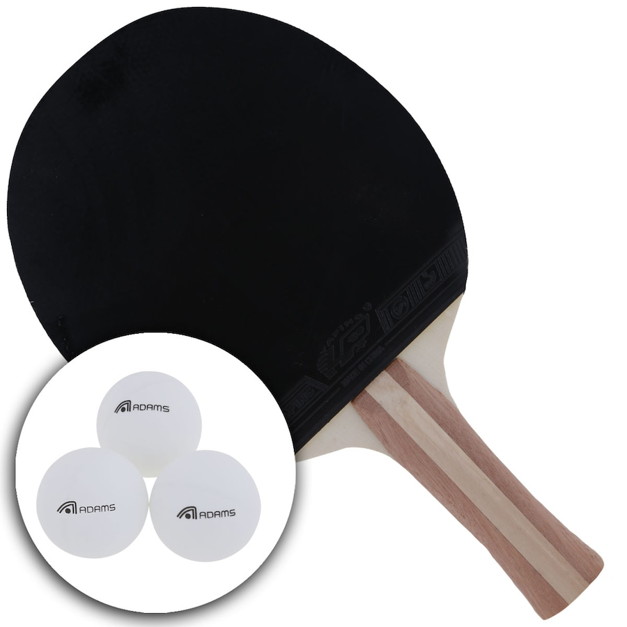 c5a204986a Kit de Tênis de Mesa Adams com 2 Raquetes e 3 Bolas