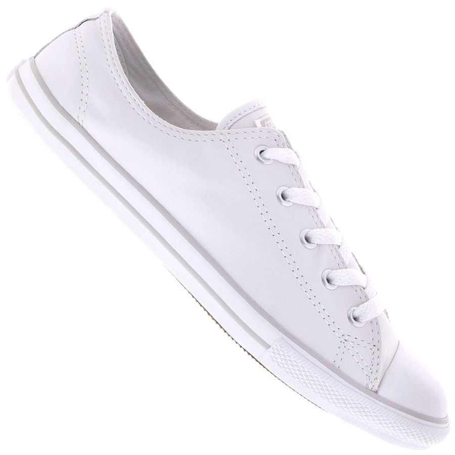 cc93bb645 Tênis Converse All Star Ct As Dainty Leather Ox Feminino