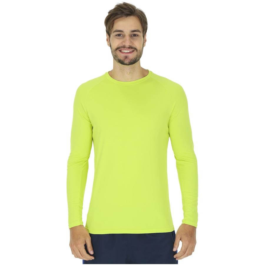 dde71aae1 Camiseta Manga Longa com Proteção Solar UV50 Oxer Custom - Masculina