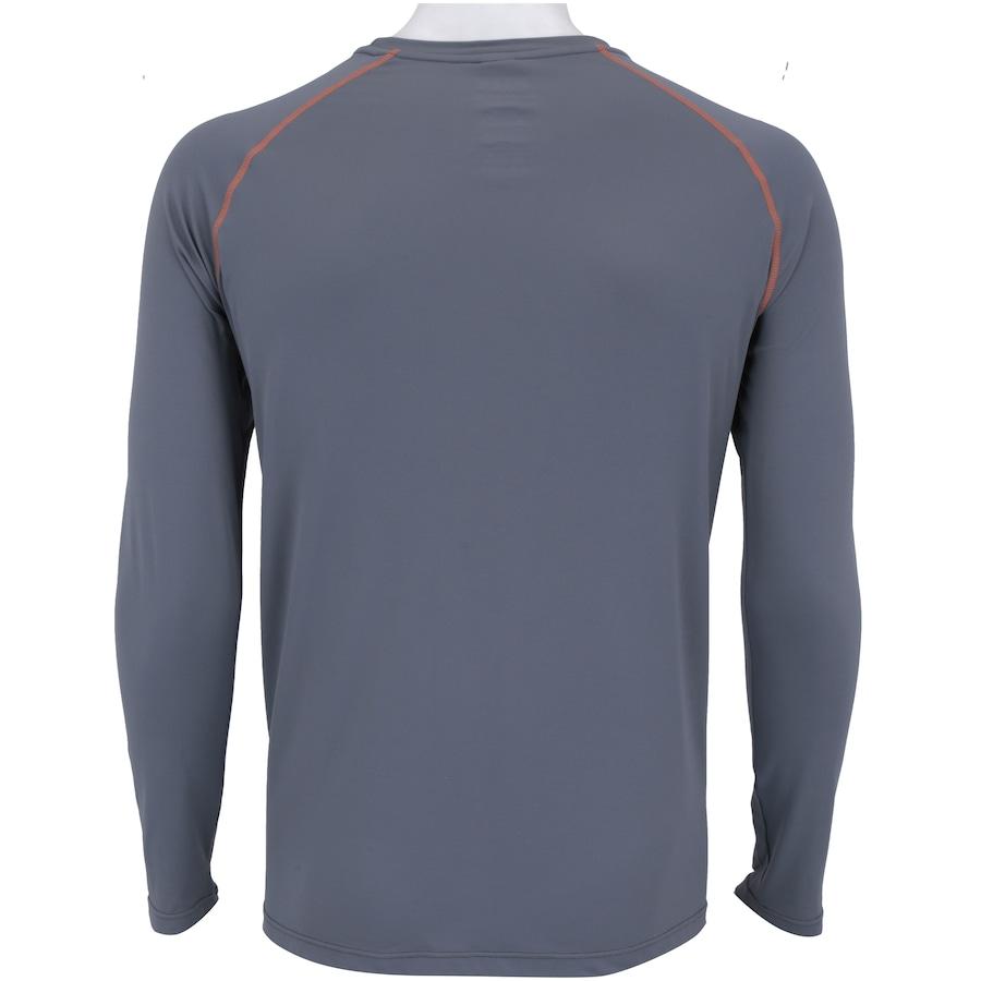 Camiseta Manga Longa com Proteção Solar UV50 Oxer Custom - Masculina a4e0377d70665
