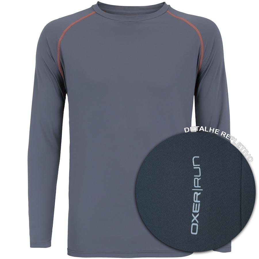 e9b6405b5c Camiseta Manga Longa com Proteção Solar UV50 Oxer Custom - Masculina