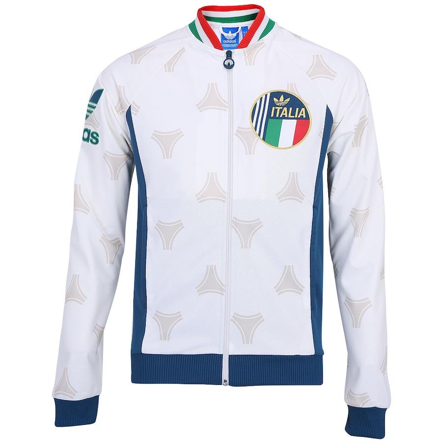 Jaqueta Adidas Retrô Itália b3a9ef15953d3
