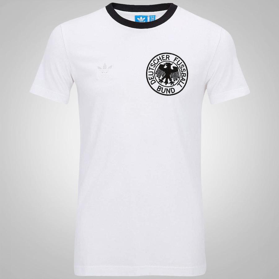 Camiseta Adidas Alemanha Retrô dec98f769f272