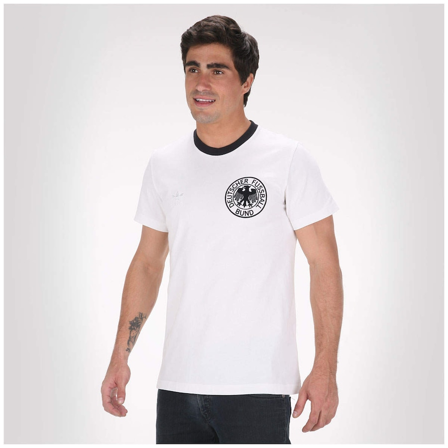 Camiseta Adidas Alemanha Retrô ccd4996b194b3